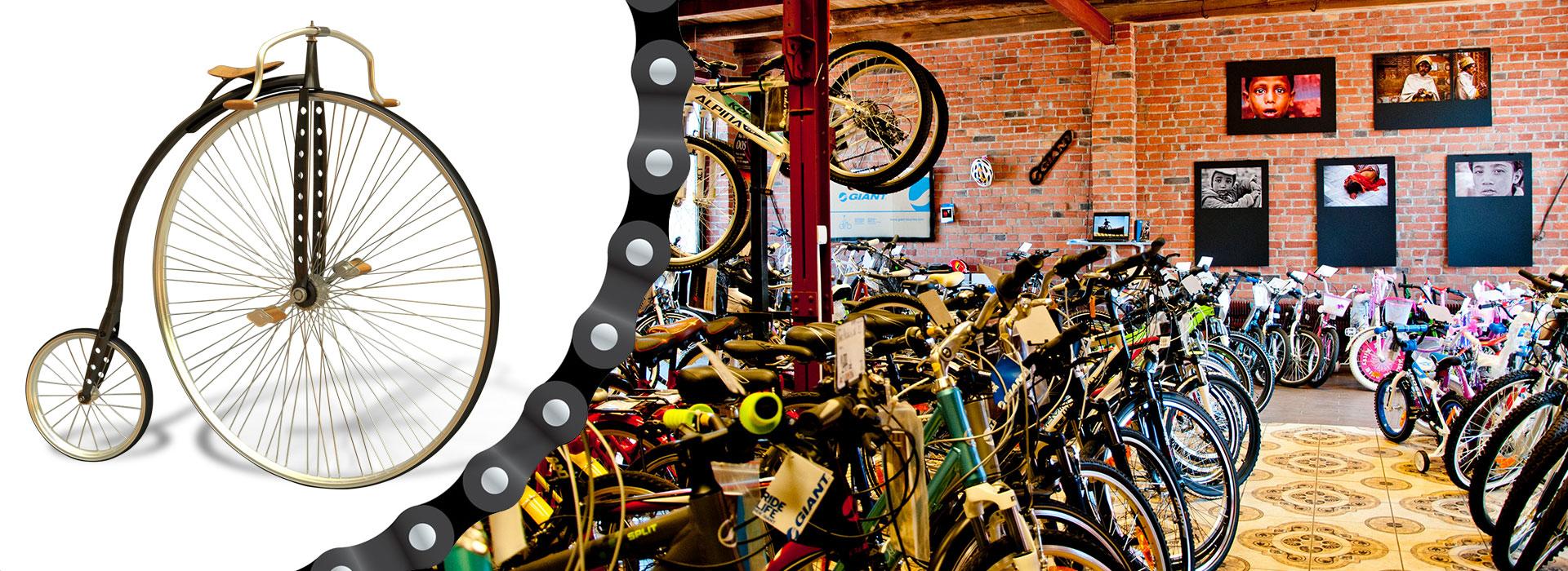 Sprzedaż i naprawa rowerów w Lubsku